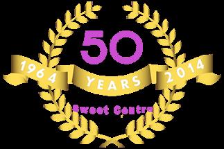 Bradford-Sweet-Centre-50 Year-Logo